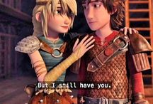 Hiccstrid / Hiccup&Astrid