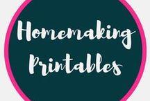 Homemaking and Homeschooling Binder Printables / Printables Homemaking and Homeschooling Binder Printables