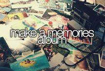 My Bucket List / Before I die, I want...