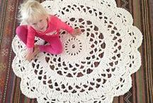 Virkatut matot/ Crochet rugs