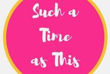 Such a Time as This / Such a Time as This - Find Your Purpose in the Everyday. Inspiration for Motherhood, Homemaking, Homeschooling, Meal Planning, Special Needs Parenting and Following Christ.