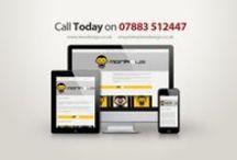Lee's Design Responsive Video & Advert / Short video & static advert advertising Lee's Design responsive websites