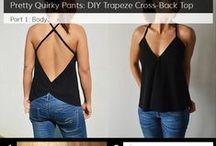 Käsityö: helppoja vaatteita/ Easy clothes diy
