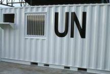 Container realizzati per l'ONU / CIE S.r.l. è specializzata nella fornitura di container attrezzati come da vostre specifiche. Su questa board troverete alcune immagini dei container realizzati per l'ONU.