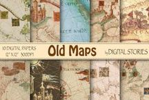 Music & Maps Scrapbooking