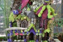 Fairy Cottage / Ideas to build a fairy house by the lake / by Nancy Schmit