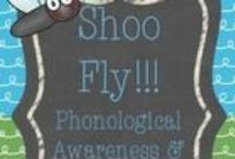 Phonological Awareness / Activities to support pre-reading and early reading skills for SLPs and Teachers.