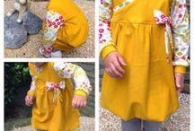 Nähideen für Kleine / Kleidung für Kinder nähen
