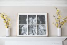 Photo Display Ideas / Ideas for ways to display your photos in your home