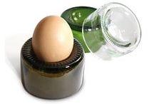 recyclage du verre / Verre recyclé.