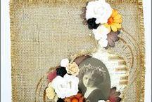 Juta / Burlap / Jak można wykorzystać jutę i kwiaty jutowe Retro Kraft? / How can you use burlap fabric and Retro Kraft burlap flowers?