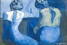 Art : Femmes BLEUES / Picasso, Modigliani, Matisse, Monet, Chagall, Magritte...