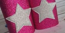 Party: Girl Superhero Party / Superhero party ideas for the girly girl, who likes pink, sparkles and superheros!