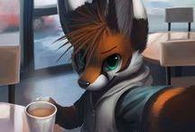 Furries / Cute and beatiful arts <3