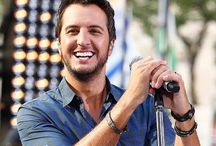 JUST (the adorable) Luke Bryan / My devotion to the sexiest man on the planet...Luke Bryan!  damn he's HOT!!