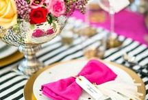 Table Settings / by Margarita (Party Inspirations)
