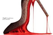 KILLER KICKS / Fashionable shoes that you don't see everyday...who has the heart to wear these? I do!  / by HAUTE Nails