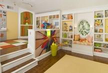 Playroom ideas / by Samantha Goodspeed