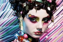 Artistic and Inspirational Makeup Looks / The colorful, wacky, daring, visionary and other out-there looks that are just so inspirational!