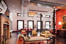 Lofts - Exposed Ductwork / #Lofts and other environments with exposed HVAC ductwork