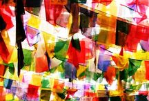 Prayer Flags: Scattered By the Wind