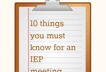 IEP Help / by Tina Chevalier