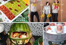 superbowl party ideas! / by Samantha Goodspeed