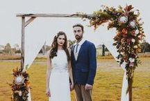 Wedding Arches / Trellis //Austin Wedding Photographer / Wedding arch ideas and inspiration from an Austin wedding photographer.