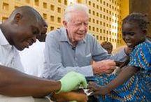 Guinea Worm Disease Eradication Program / The Carter Center is leading the international effort to eradicate Guinea worm disease, a parasitic scourge.