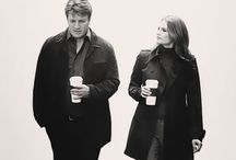 CASTLE (and his Queen) / Maybe some minions included (ha! Ryan and Espo would HATE being called that! )