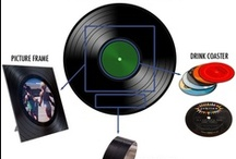 Interesting Uses for Vinyl Records / Let's face it vinyl records are relics, dinosaurs of days gone by.  But a new era has emerged and vinyl is now part of the global music scene, just like it never left.  But, what to do with all the old, unplayable records?  Take a look! / by MusicStack