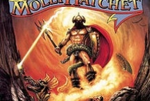 Molly Hatchet Album Covers / Molly Hatchet are famous for their unique album cover art by Frank Frazetta  / by MusicStack
