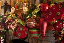 Christmas decorating / Room decorating ideas / by Linda McBroom