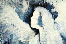 Anjos...  de qualquer jeito ou forma, mas sempre...Anjos! / by Silvana Rosin