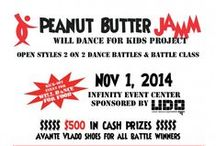 Peanut Butter Jamm / Information and photos about the Will Dance for Kids' Peanut Butter Jamm.