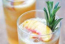cocktails / crisp & refreshing drinks infused with fresh & natural ingredients