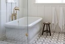 bathrooms / a place to relax and unwind.  clean, simple and always restful.