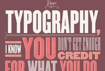 Tipografias criativas