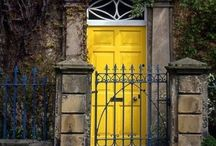 doors . gates. entry / the entry to a structure creates the first impression as to what lies beyond the door
