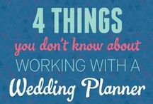 Wedding Planning 101 / From booking a venue, planning showers, to what to do on the big deal, here is some great tips to make sure your wedding day goes as smooth as possible.