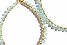 Crystal Teardrop Earrings / Ellison James Designs