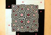 3D-Quilt / 3D-Quit, Illusionsquilt, Optische Täuschungen