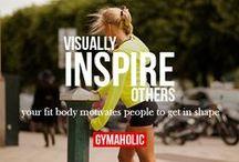Motivación en Movimiento / Encontrarás frases e imagenes que te motivaran a seguir en tu rutina de ejercicio y alimentandote de forma correcta para alcanzar un estilo de vida saludable.
