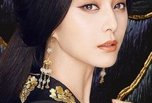 fc:鈴蘭 / faceclaim: fan bing bing ______ 月山 鈴蘭 Tsukiyama Suzuran, Dragon Queen of the North.