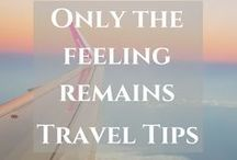 Travel Tips & tricks / Follow this table to get travel tips and hacks about packing, budget traveling, and more. https://thefeelingremains.com/destinationsandmore/travel-tips-2/