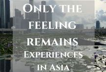 Asia / Read my latest posts about travel in Asia and find more inspiring stories and useful hacks from travelers. Let's explore amazing destinations in Asia.  https://thefeelingremains.com/destinationsandmore/asia/