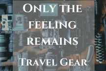 Travel gears / Must have travel gears. Find the best for you and travel like a boss.  https://thefeelingremains.com/destinationsandmore/