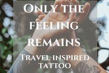 Travel inspired tattoo / Find amazing travel inspired tattoo ideas