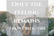 Travel blog tips / Everything about travel blogging