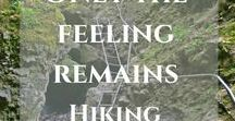 Hiking around the World / Hiking is fun. Leaving civilization behind and getting a deeper relationship with nature is essential when you'd like to empty your mind and prepare yourself for further tasks and challenges that come with life.   travel blog   travel tips   hiking   hiking tips  